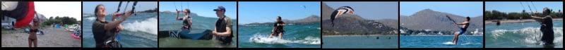 1 Mallorca kiteschool kite course in May Asociacion Aprende a Navegar