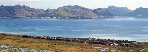 Nature Park IBANAT kite spot Mallorca in June