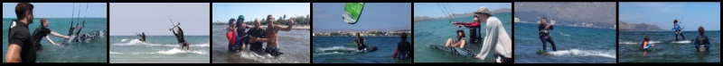 3 Mallorca kiteschool kite course in June Asociacion Aprende a Navegar
