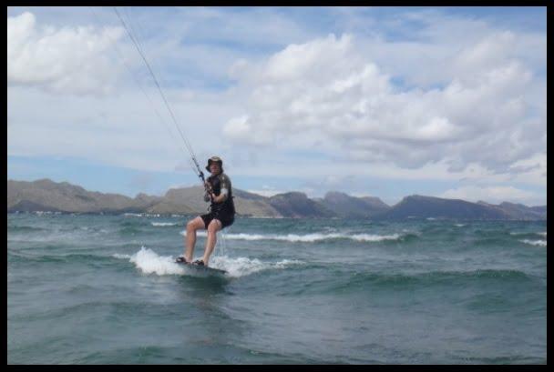 kitesurfing mallorca tabla Flysurfer XL Kiteboad