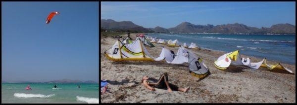 5 andere-Tage Wind Kite Schule in Alcudia Juni Juli