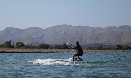 Wind in Mallorca in July kitesurfing mallorca com