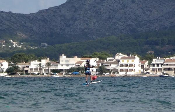 Es Barcares Mallorca foilboarding Flysurfer Sonic 2