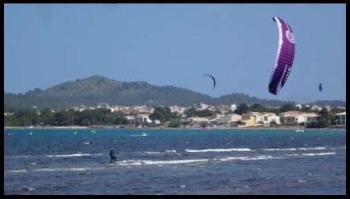 Flysurfer Speed 5 12 mts mallorca kiteschool kiten lernen April