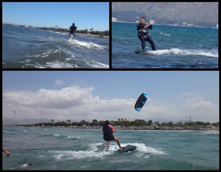 kitesurfing learn in Mallorca in May