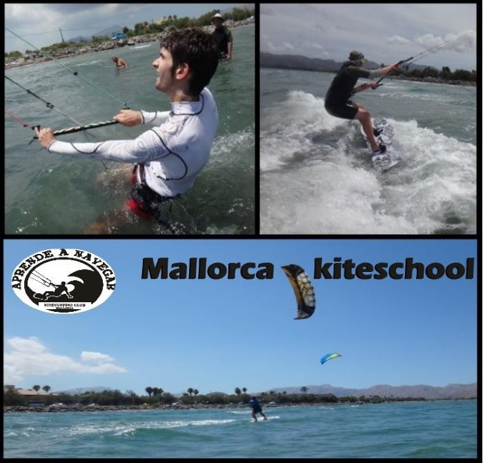 curso de kite en Palma de Mallorca en Abril