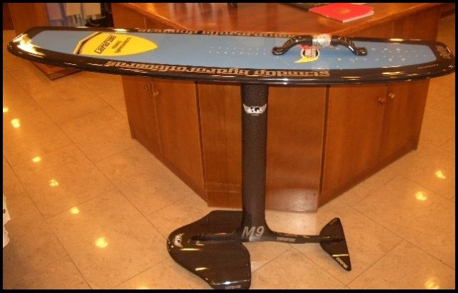 my first hydrofoil a Carafino model bought in August 2006 mallorca