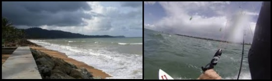 1 bad weather should be avoided to learn kitesurfing