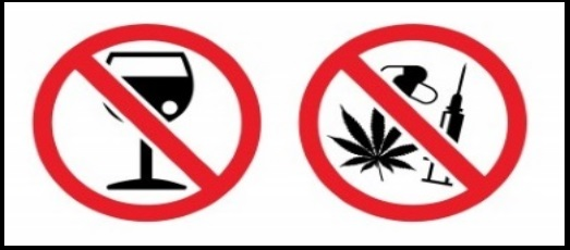 10 no drugs no alcohol when kitesurfing