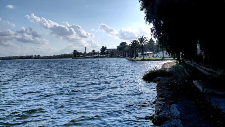 lago mayor upwind parte del lago
