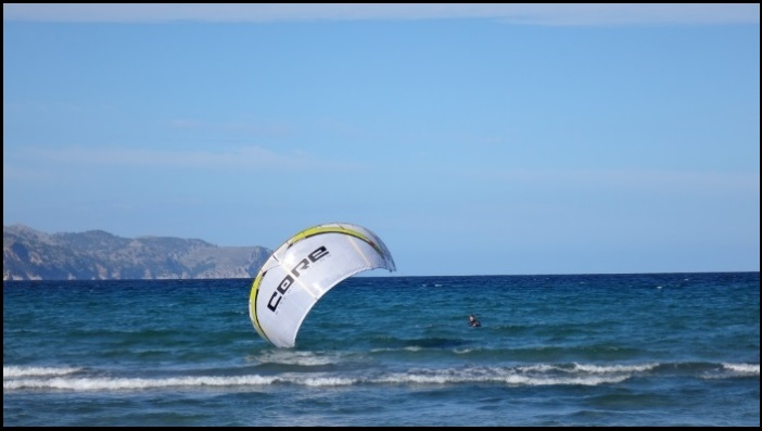 2 mallorca kite schule kliniken der tube kite startet