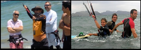 4 Always take kite lessons from a certified kitesurfing school