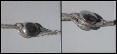4 die Metallverbindungen müssen zweimal geprüft werden, bevor dein Kite gestartet wird