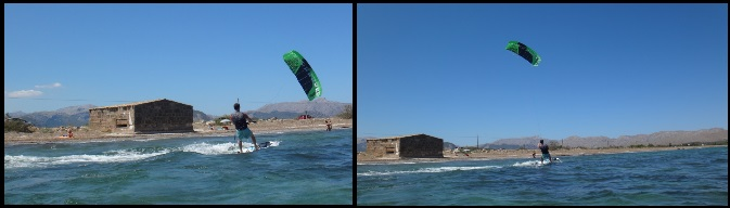 5 Flysurfer Peak 12 mts kitesurfing course in June in Mallorca