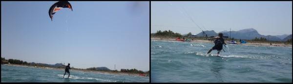 6 Evan kite rides kite course for kids Mallorca in April