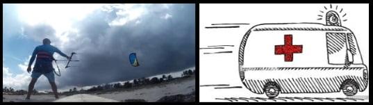 6 clases de kite en Alcudia en Mayo vientos ligeros