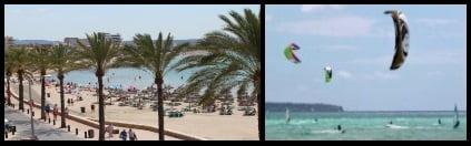 7 Can-Pastilla promenade zona de kitesurfing en Palma