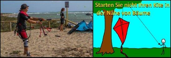7 Starten oder landen Sie Ihren Kite nicht in der Nähe von Hindernissen - copia