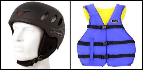 8 Schwimmweste und Helm sind ein Muss beim Kitesurfen oder Kitesurfen