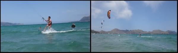 8 Titu success on his kite course Mallorca in April