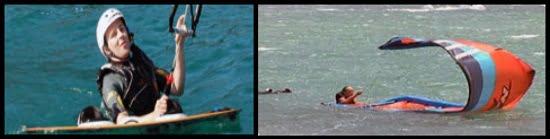 8 selbstrettung bei tube kite mallorca kitesurfen