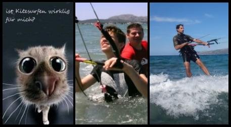 Jeder kann kitesurfen lernen auf Mallorca in May und Juni