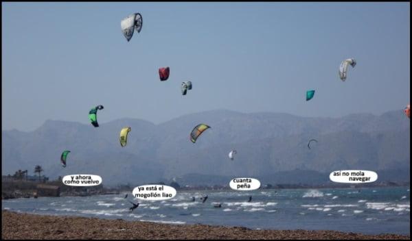 clases de kitesurf en mallorca en julio kiteblog clases de kite para principiantes