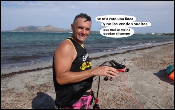 clases de kitesurf mallorca en septiembre kiteblog kite lineas rotas