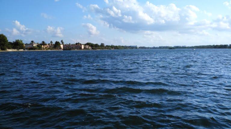 Lago Mayor Alcudia upwind side con suroeste