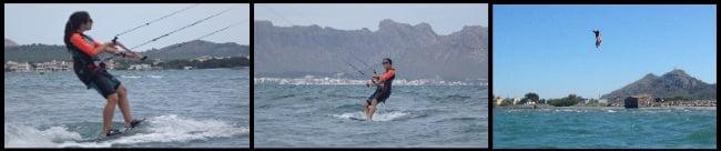 kitespots Mallorca kite course in June Marta Asociacioa Aprende a Navegar