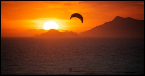 kitesurfing and sun effects mallorca kiteschool in June kite blog