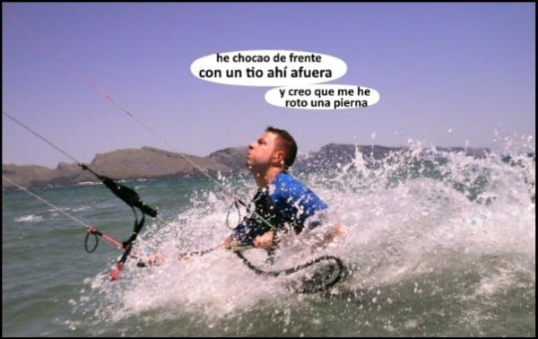 kitesurfing mallorca clases de kite en Sa Marina Pollensa viento en Mallorca en verano