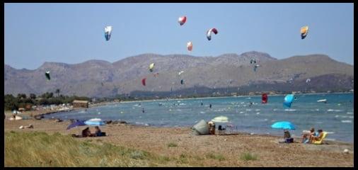 mallorca kiteschool in June best kite course in Mallorca