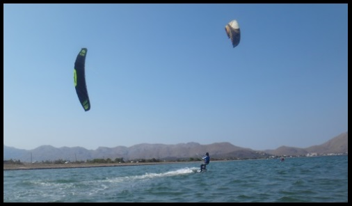 summer kiteschool August kite lessons Mallorca