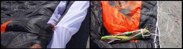 1 Flysurfer race kite, the SONIC