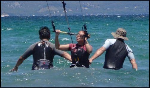 1 aprende kitesurf en Palma de Mallorca con nuestra escuela
