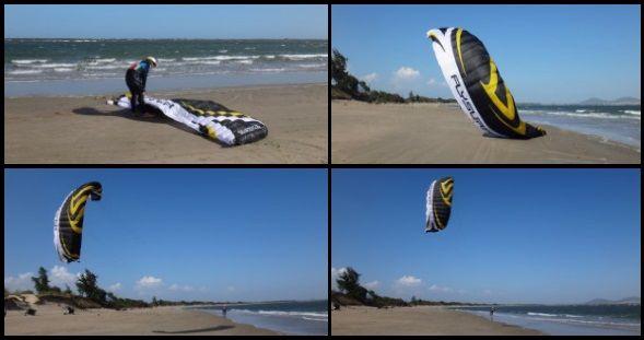1 flysurfer Speed 4 Mallorca kiteschool report