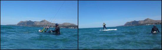 1 nuestro kiteblog vamos a referirnos a Cornelius curso de kite en Junio