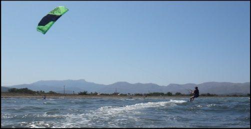 12 mts kite flysurfer Peak escuela de kitesurf en Mallorca