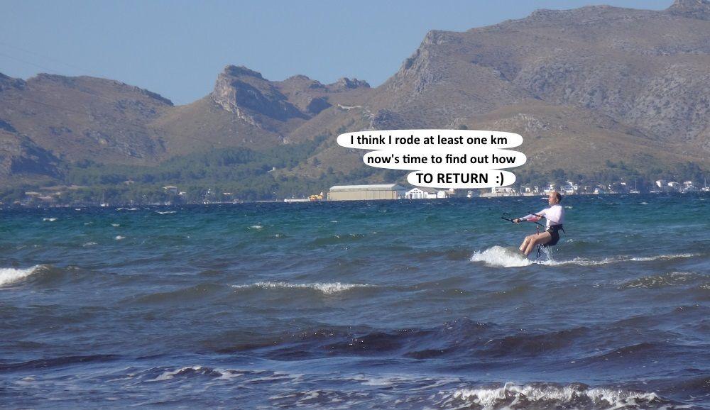 13 Mallorca kiteschool 3 days kite lessons kite course in July Carsten