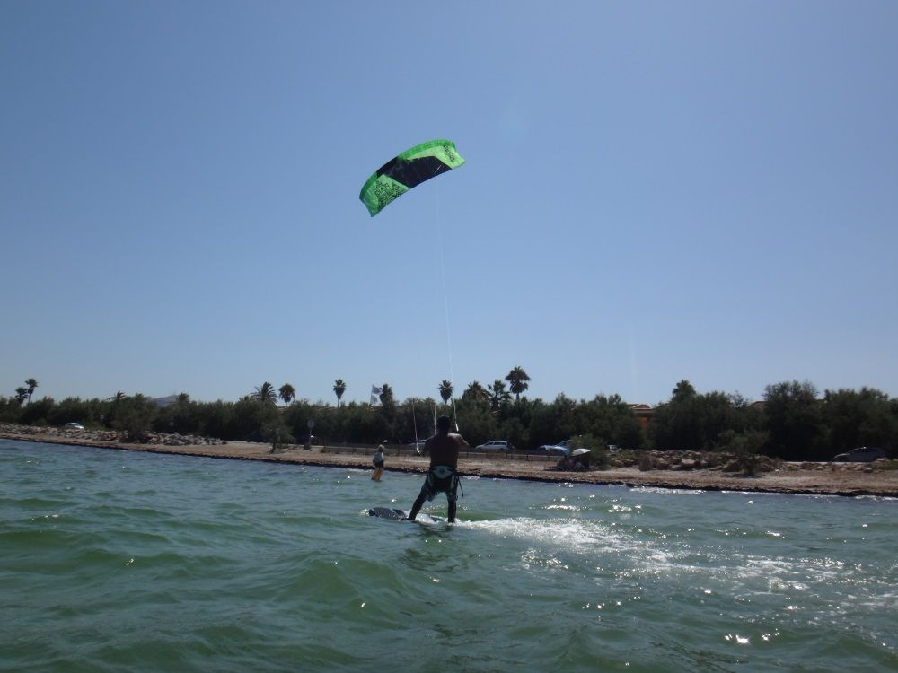 14 and getting away again mallorca kite courses in August Danish kiteschool