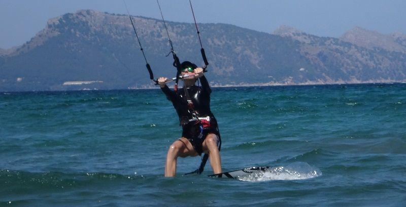 16 besten Kite-Unterricht für Anfänger in Mallorca Kite-Kurs im Juni
