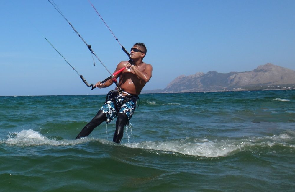 19 look at my stance, amazing kite style mallorca kiteschool
