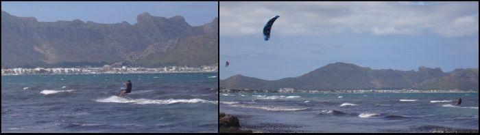 2 Bartosz Polish kite student in kitekurs auf Mallorca im April