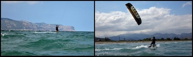 2 best kitespot of Mallorca free from kiters traffic and other kite schools mess