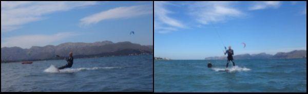 2 kiten lernen anfänger kiteschule Mallorca