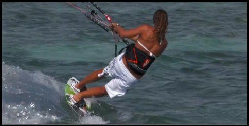 2 reiten kitesurfen toeside mallorca kiteschool kurs in Juli