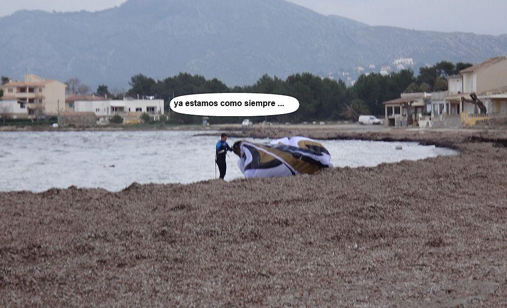 palma de mallorca escuela oficial de kitesurf en Pollensa en Julio y agosto