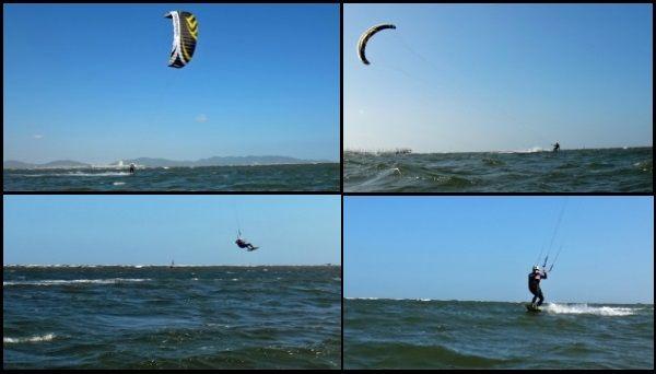 3 wave style kite foil Speed 4 deluxe Flysurfer kiteschool Mallorca