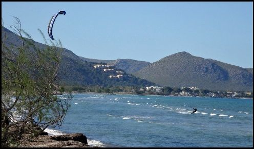 4 Borja totaler Triumph Kitesurfkurs in Pollensa Mallorca im Juni